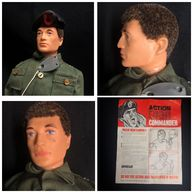 ACTION MAN - 1970 FLOCKED HEAD TALKING COMMANDER